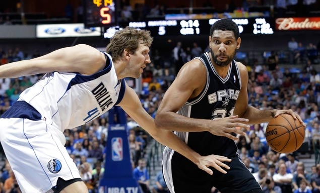 NBA personalities, from rivals to pals, look back at memorable moments from Duncan's career