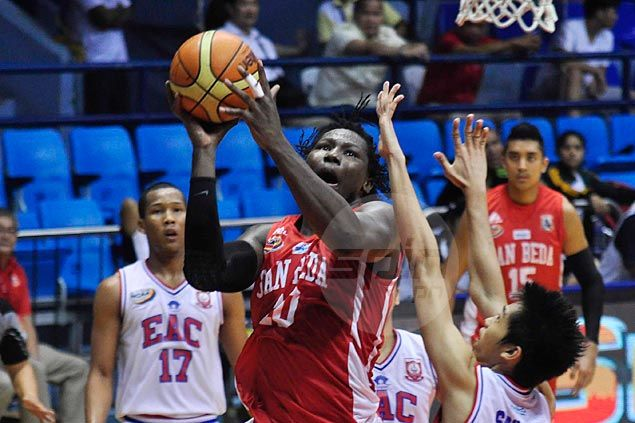 San Beda Red Lions overpower undermanned EAC Generals to tighten grip on top spot