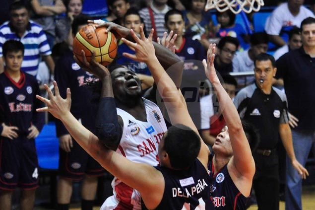 San Beda Red Lions clobber Letran Knights to move closer to NCAA Final Four