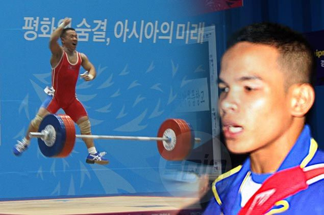 Nestor Colonia misses meal, peanut power not enough as he makes early exit from weightlifting competition in Asiad