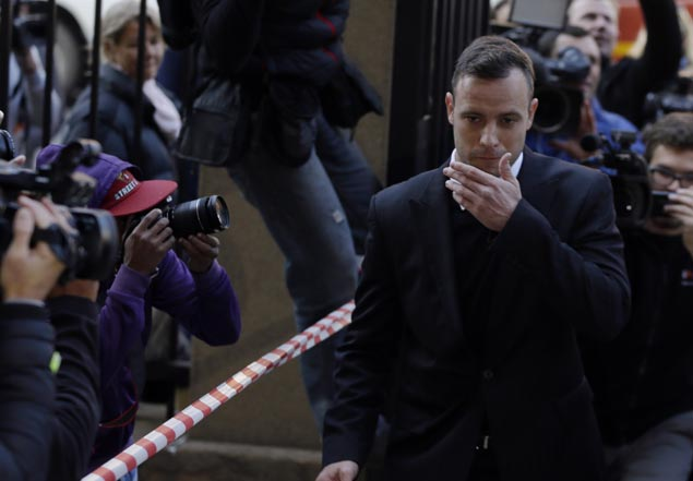 Oscar Pistorius rushed from prison to hospital after suffering from chest pains