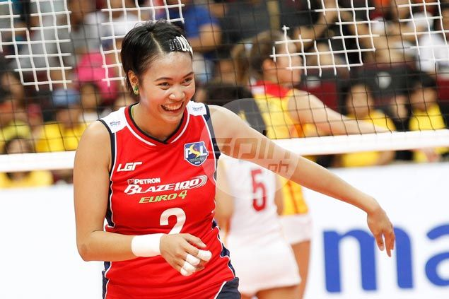 Aby Marano glad to find new home at Petron after leaving La Salle 'comfort zone'