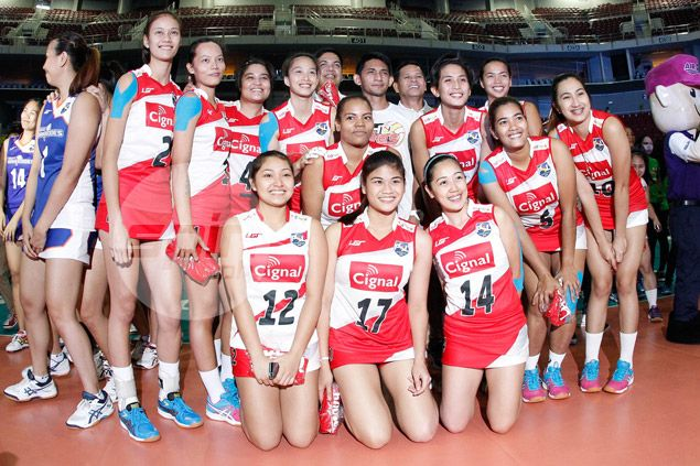 Cignal HD ends run of Super Liga defeats with clear victory over Philips Gold