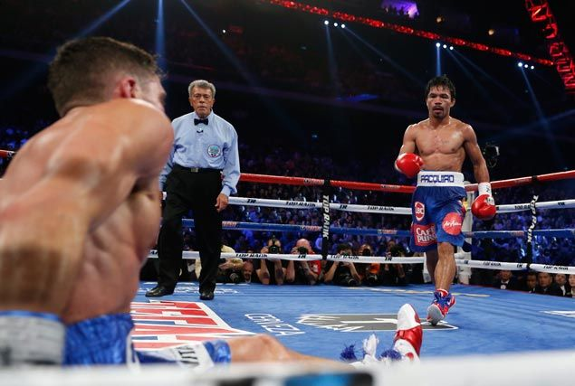 None the worse for wear after Algieri fight, Pacquiao turns focus to Mayweather fight