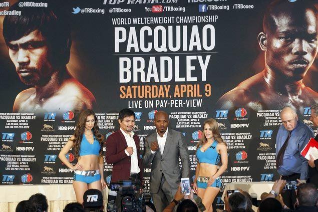 Has Pacquiao vs Bradley lost luster with WBO title out of the picture? Not at all