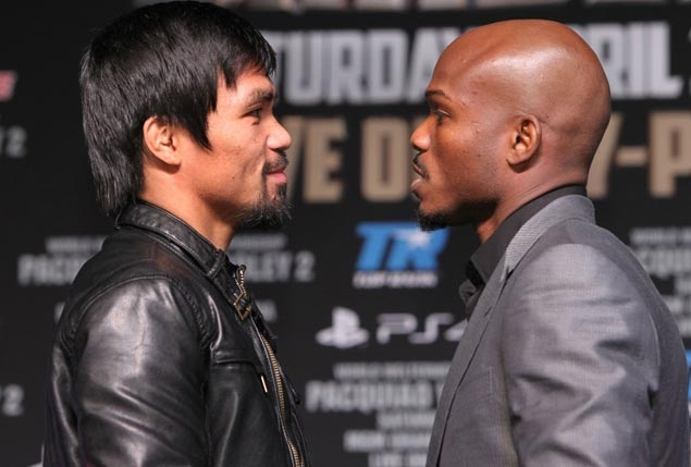 Manny Pacquiao, Tim Bradley meet again, complete trilogy with April 9 fight