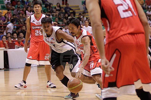 Veteran Sunday Salvacion on his sticky defense against the rookie Manny Pacquiao: 'Nakakahiya naman kung ma-iskoran ako'
