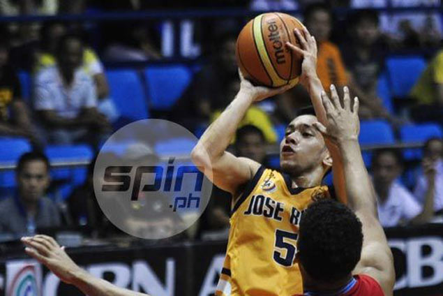 Paolo Pontejos leads way as JRU Heavy Bombers down San Beda Red Lions in Fr. Martin Cup