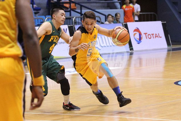 Paolo Pontejos shows the way as JRU Bombers outsteady FEU Tamaraws
