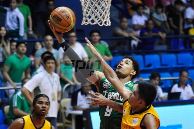 St. Benilde Blazers pounce on seven-man Mapua Cardinals to stay on track for Final Four