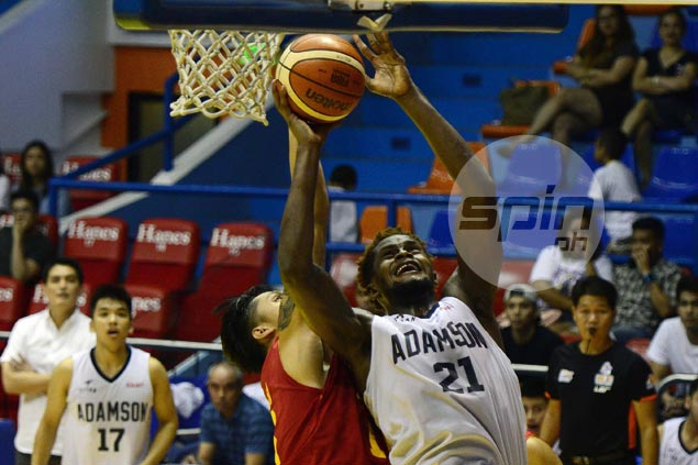 Adamson captializes on absence of Allwell Oraeme to hold off Mapua