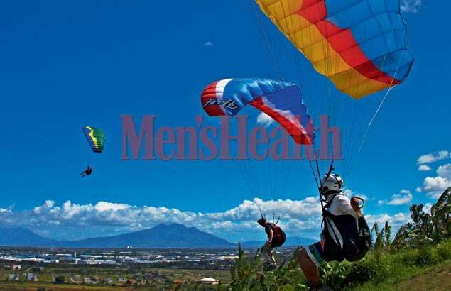 Paragliding: Up in the Air