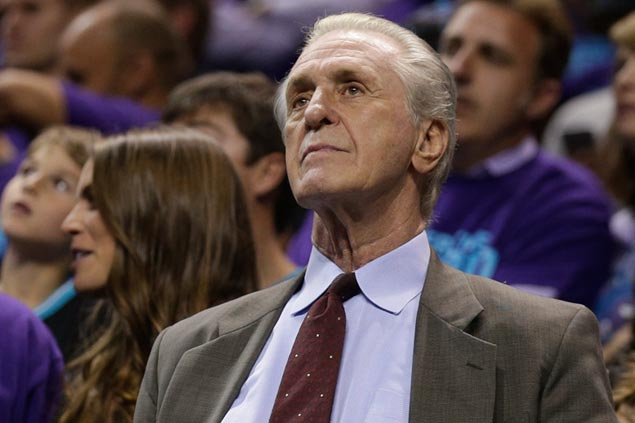Pat Riley hopes to keep Miami Heat core, not eyeing total roster revamp