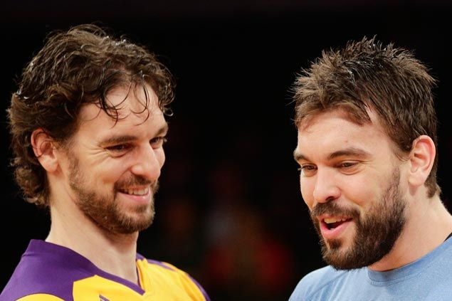 Marc and PauGasol can't wait to make history as the first brothers to start in NBA All-Star game