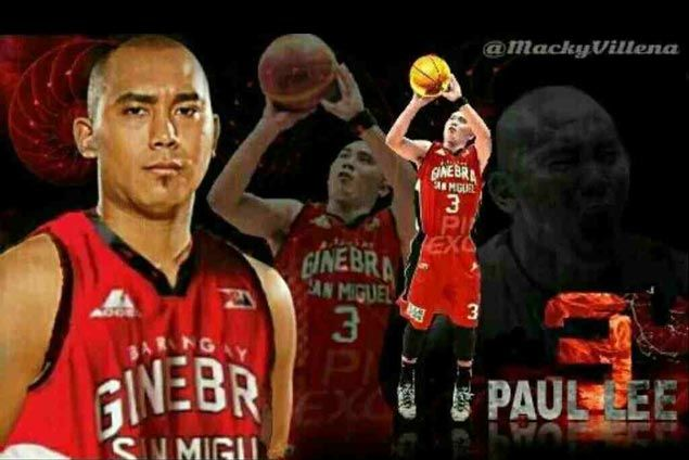 Picture perfect? Agent Lawrence Chongson says free agent Paul Lee a perfect fit for Ginebra