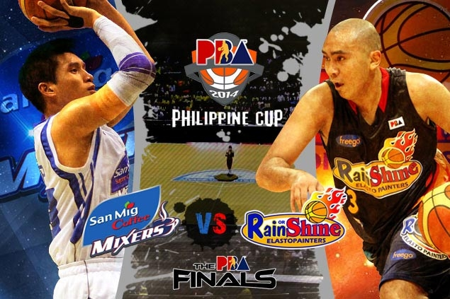 In an evenly matched PBA Philippine Cup Finals pitting two experienced teams in Rain or Shine and San Mig, which player will have the biggest impact on the outcome?