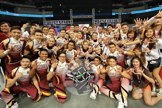 Perpetual Help looks to extend NCAA cheerdance reign to six years
