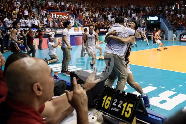 Perpetual Altas complete comeback against EAC Generals to claim NCAA volleyball title