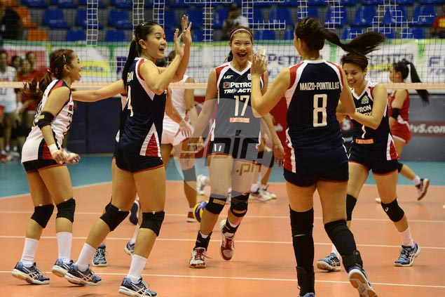 Petron fights back from a set down to beat Cignal in PSL Invitational