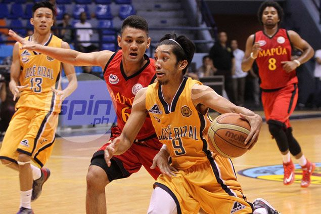 Patient JRU gunner Philip Paniamogan impressed with own performance against Mapua Cardinals