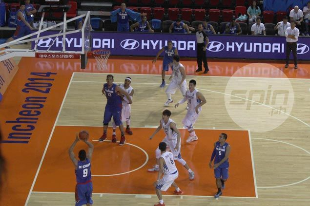 Gilas Pilipinas gold medal chance dim as Korea fights back from 16 points down
