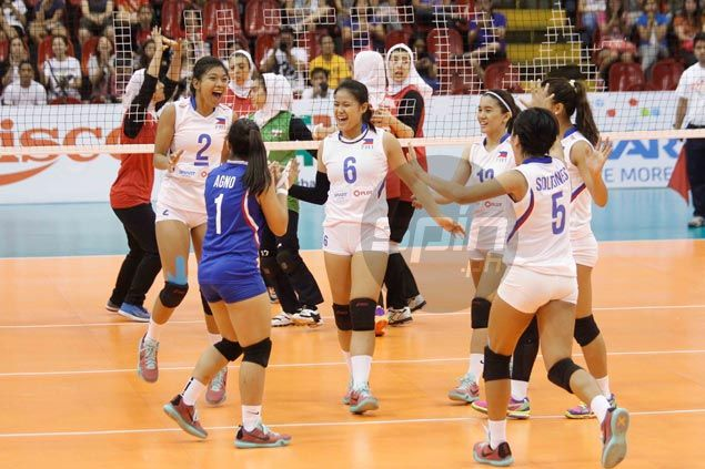 Philippines ends Asian U23 campaign with a bang, takes seventh place with straight-sets win over Iran