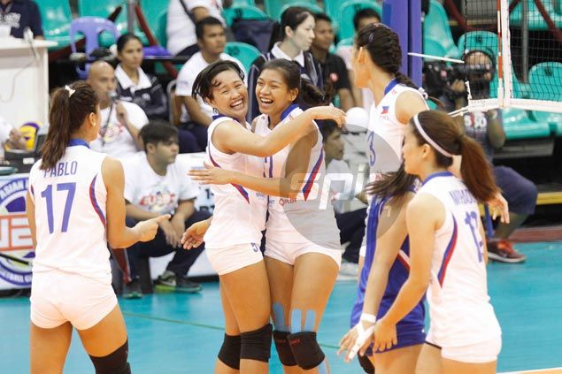 Alyssa Valdez says it was inspiring to see rivals come together for flag and country