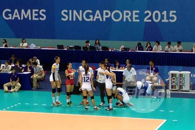 Philippine volleybelles bounce back, even record with straight-sets win over Malaysia