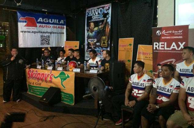 Pilipinas Aguilas break new ground with American football friendly against Australian Raiders