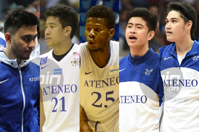 Ateneo cast-offs Pingoy, Tolentino, Doliguez, Cani, Perez find new lease on life elsewhere