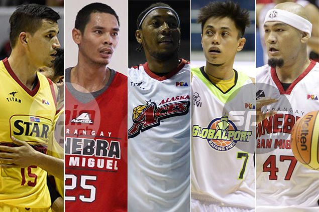 June Mar Fajardo, Calvin Abueva lead South, North starters in PBA All-Star Game