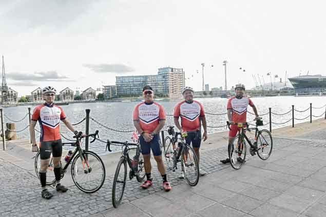 PRU Life UK president/ CEO Antonio de Rosas brings along staff for 'ride of a lifetime'