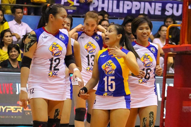 Lady Troopers overpower Life Savers to keep share of lead in PSL All-Filipino Conference