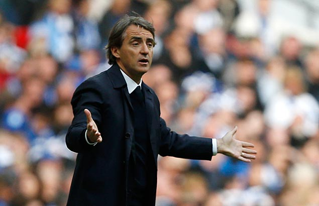 Man City fires Mancini 1 year after EPL title win