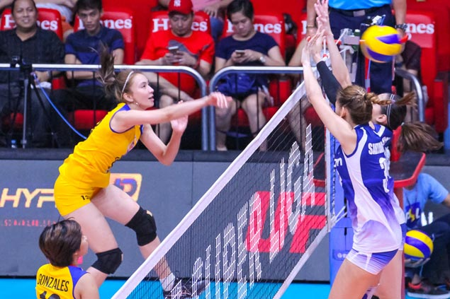 PT fears Army's Rachel Anne Daquis suffered torn muscle in Super Liga game