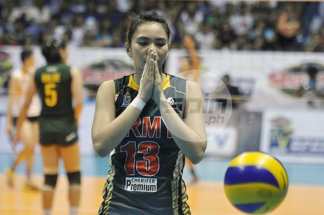 Army coach admits Rachel Anne Daquis has pain in shoulder but expects former MVP to raise her game in title decider