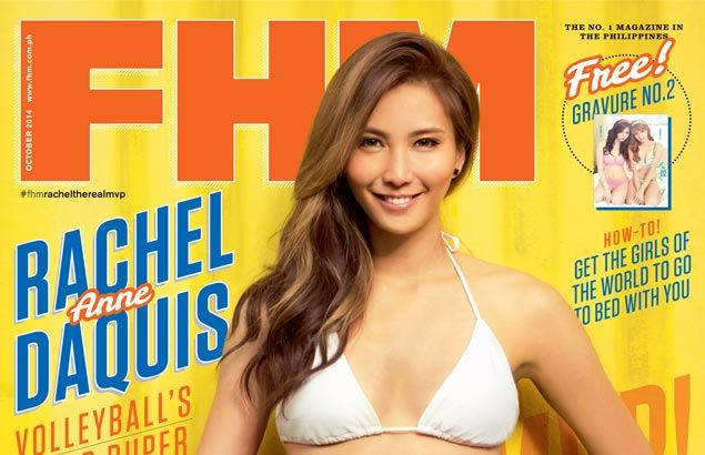 Volleyball Star Rachel Anne Daquis Simply Smashing As