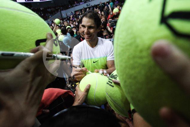 Rafael Nadal picks up two wins as defending champion Indian Aces sweep UAE Royalsin IPTL Manila leg