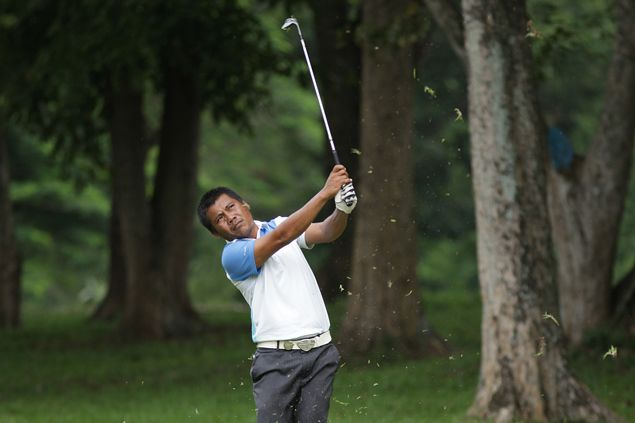 Ramil Bisera on track for return to Philippine Golf Tour as he leads qualifying tournament