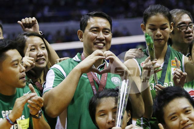 Ramil de Jesus pleased to see Lady Spikers' hard work pay off