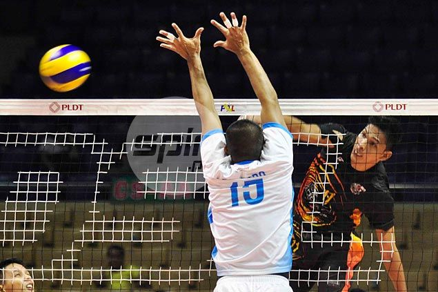 Air Force foils Cignal's bid for elimination-round sweep, takes lead in Super Liga men's tourney