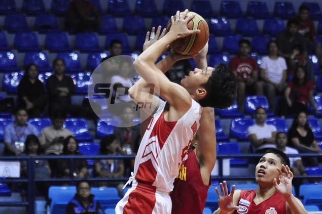 Red Cubs one win away from first-round sweep after downing Staglets in NCAA Juniors