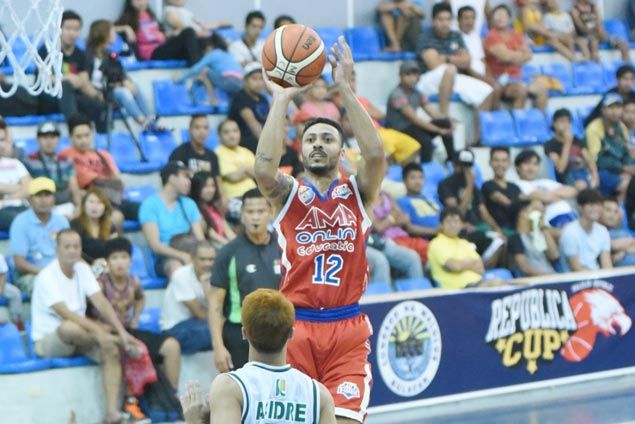 Jalalon stars for Arellano, McCarthy shines for AMA in Republica Cup opener