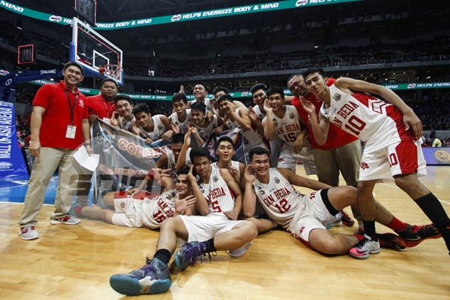 San Beda Red Cubs dispose of Arellano Braves to bag seventh straight NCAA Juniors basketball title