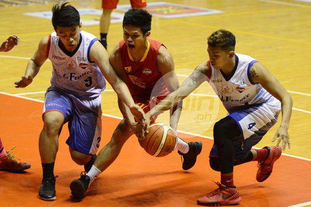 Streaking Tanduay unleashes strong finishing kick to hand Cafe France first loss in Aspirants Cup