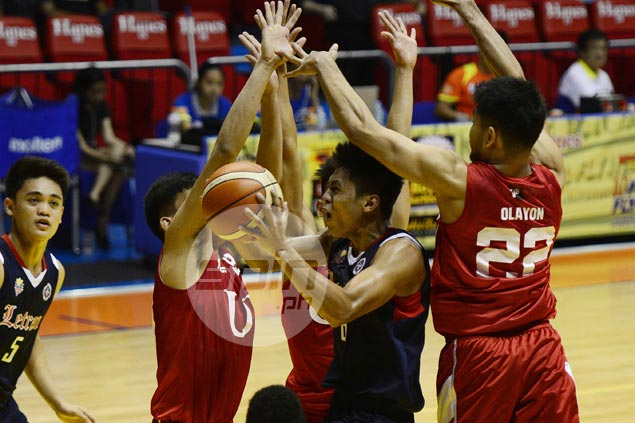 Letran fights back from 20 points down to beat UE and get back on winning track