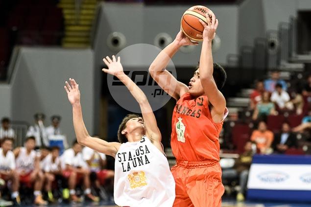 Reyger Dimaunahan stars as La Salle Lipa wins NBTC Division 2 final overRex Dei Laguna