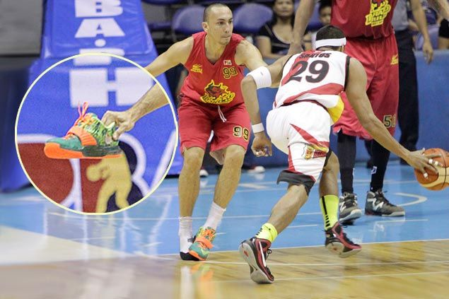 Rico Maierhofer left amused as bizarre shoe defense goes viral