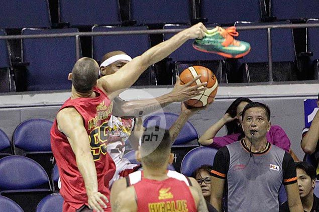 Rico Maierhofer summoned to appear before Salud as PBA sorts out 'shoe block' brouhaha