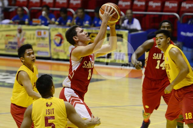 San Beda Red Lions back on track after downing Oraeme-less Mapua Cardinals
